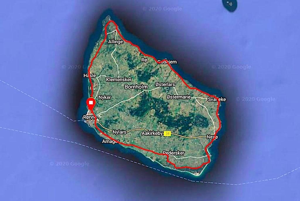 bornholm rundt 2020 rute
