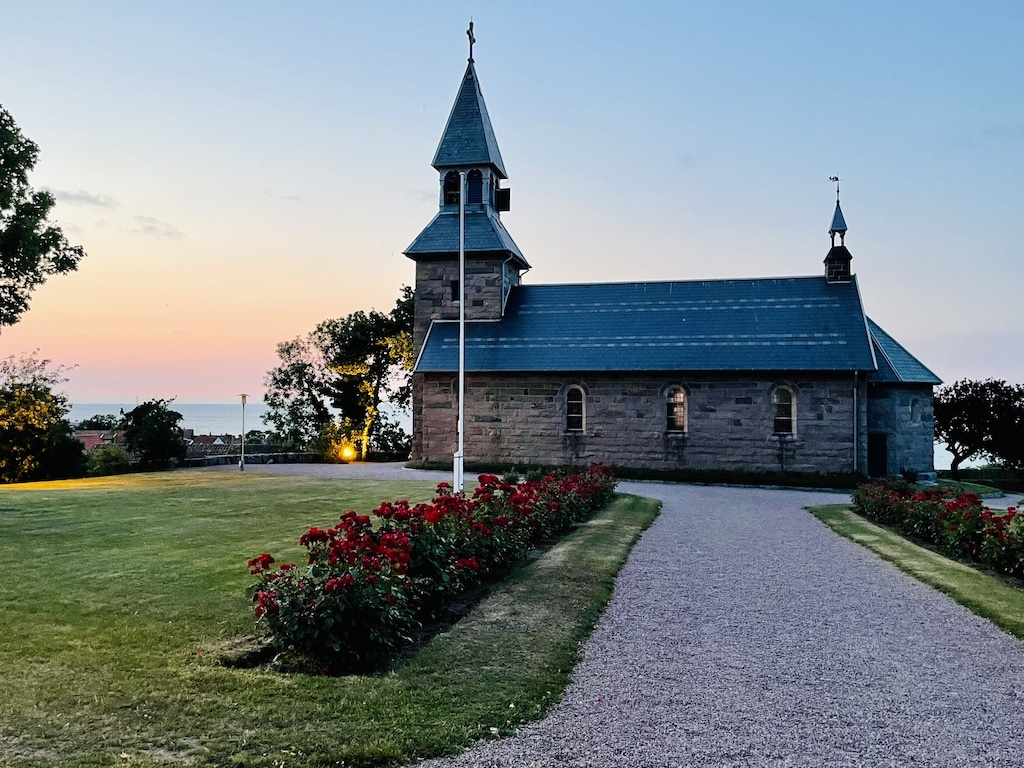 Gudhjem Kirke i Gudhjem på Bornholm
