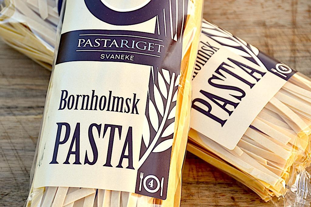 bornholmsk pasta fra Pastariget ved Svaneke