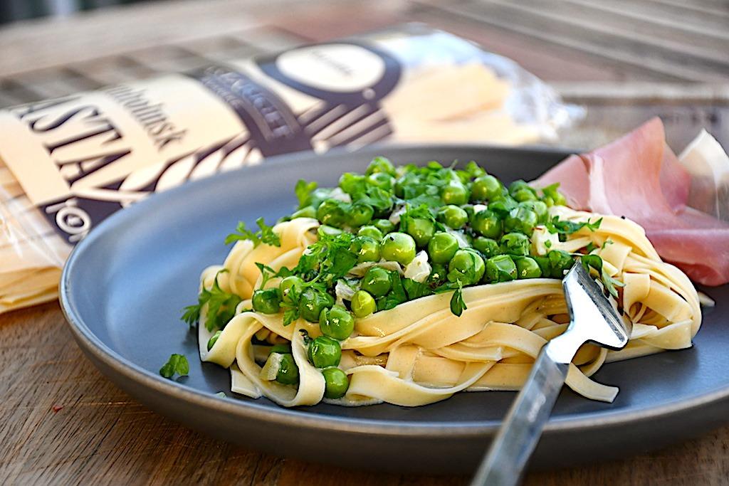 billederesultat for bornholmsk pasta med fløde og ærter