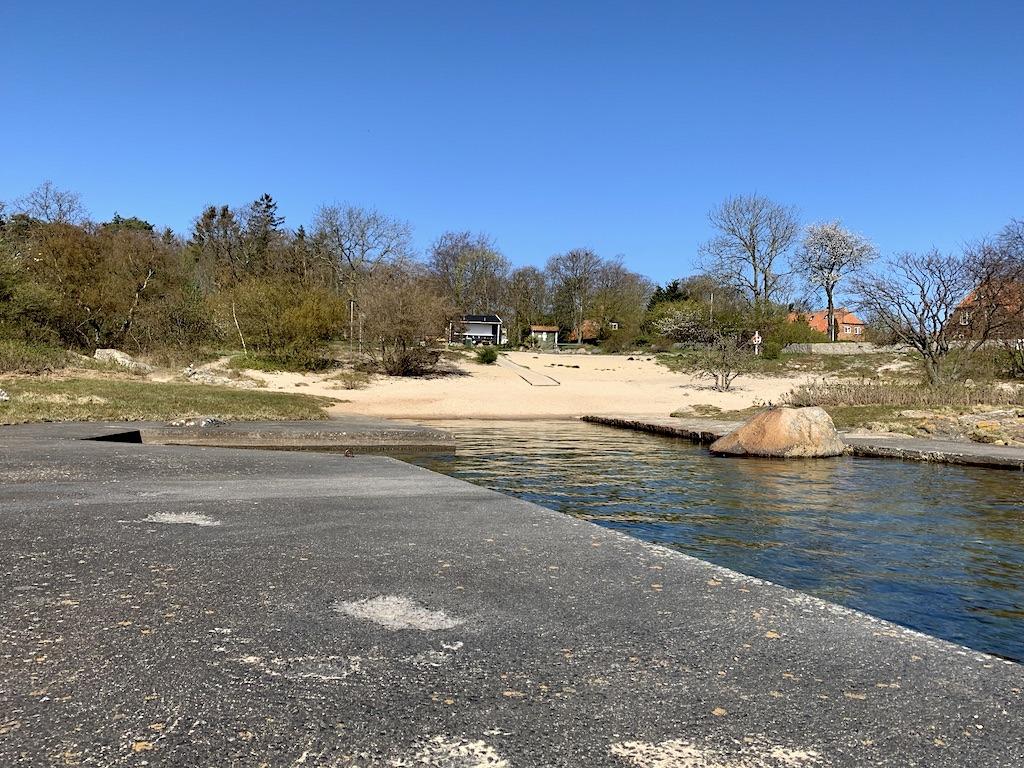 Hullehavn stranden