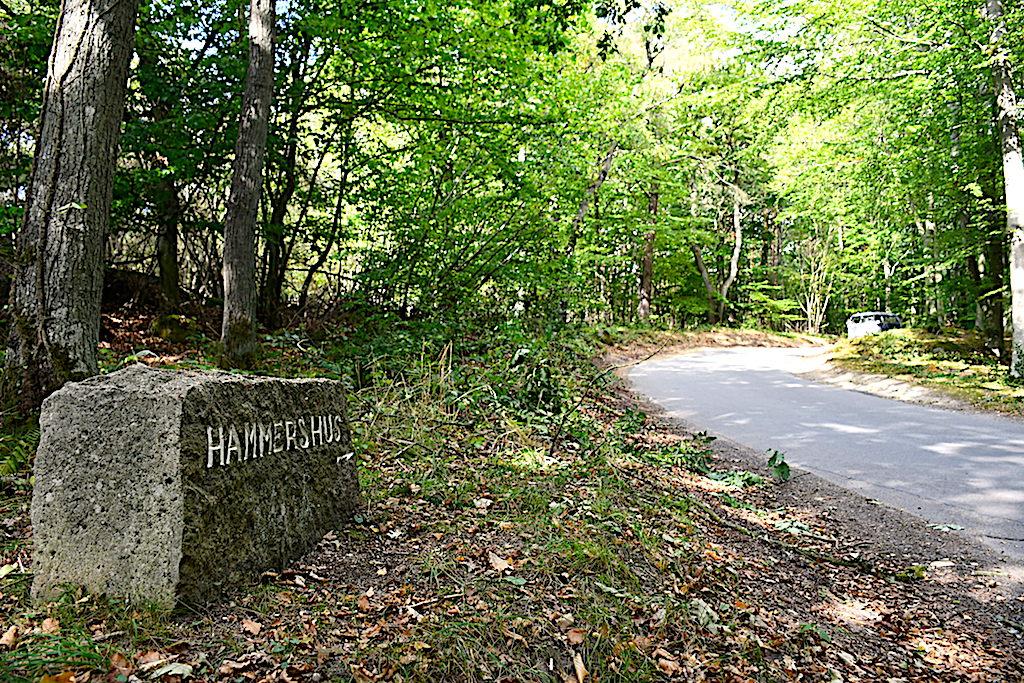 Slotslyngen ved Hammershus
