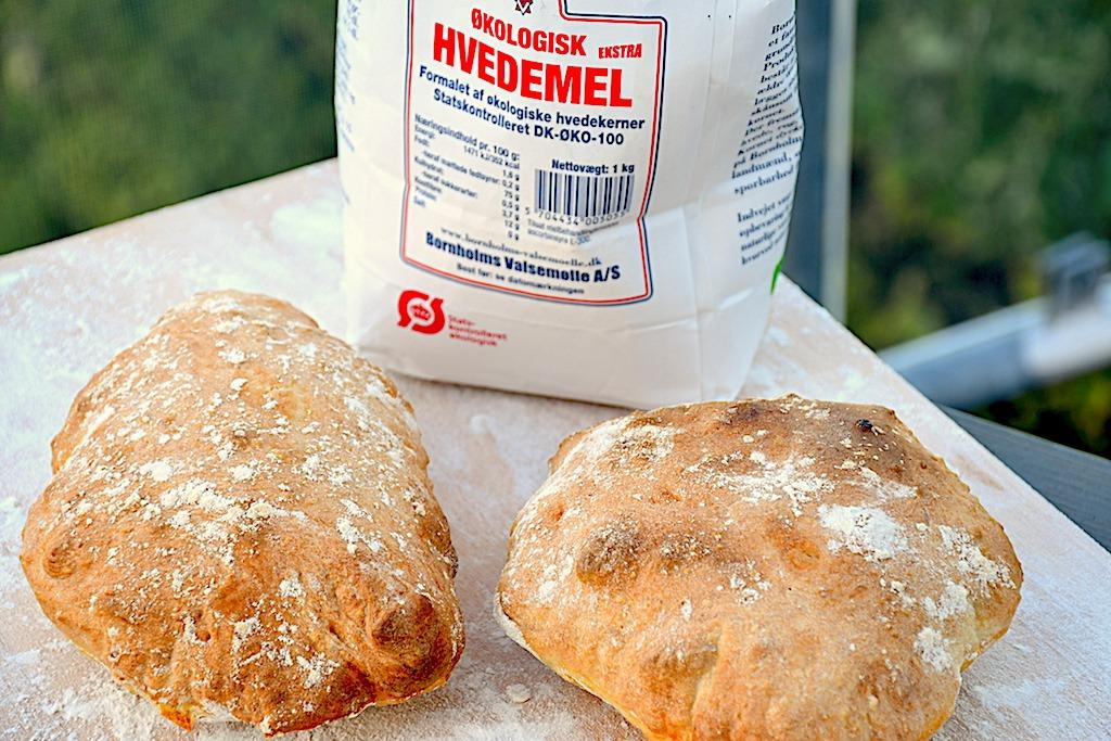 billederesultat for nemme bornholmske ciabatta brød