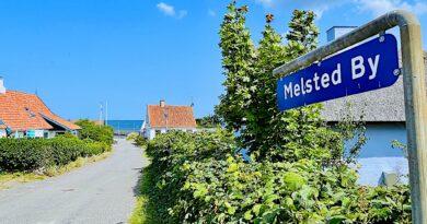 Melsted på Bornholm