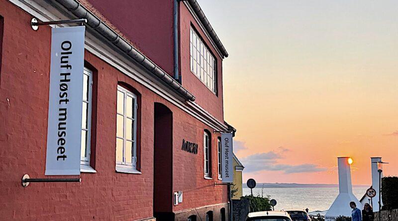 Oluf Høst museet i Gudhjem på Bornholm